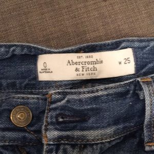 Abercrombie & Fitch mini shorts
